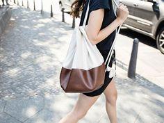 Tutoriales DIY: Cómo hacer una mochila tipo saco de polipiel vía DaWanda.com