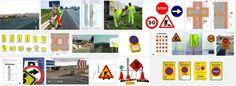 SGSST | Señalización vertical provisional de obras -Ergonomía en el sector de la construcción.