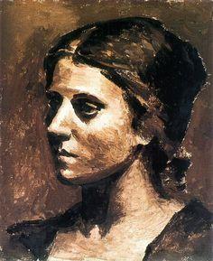 Pablo Picasso (Spain, 1881 - France, 1973) - Olga
