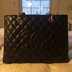 Chanel GST Bag Slightly used! Still has its structure! CHANEL Bags Totes