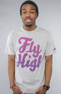 Fly Society The G650 Tee in Heather Grey : Karmaloop.com - Global Concrete Culture