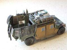 Army Surplus Vehicles, Military Vehicles, Plastic Model Kits, Plastic Models, Pickup Canopy, Tank Armor, Military Pictures, Military Diorama, Armor Concept
