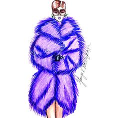 ' purple fur ' by TatyanaVSid