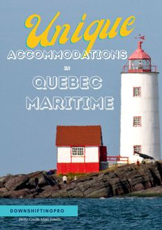 10+ Quirky & Unique Accommodations in Quebec Maritime #dreamnowtravellater #quebecbythesea Your options for accommodations in @Quebecmaritime: - Yurts, glamping tents - Treehouses - Geometric domes & pods - Tiny houses - Lighthouses Amazing Destinations, Travel Destinations, Travel Usa, Travel Tips, Tent Camping, Glamping Tents, Kids Usa, Canadian Travel, Quebec City