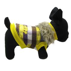 Alfie Pet by Petoga Couture - Presley Revisible Jacket - Color: Yellow * More info could be found at the image url. (This is an affiliate link and I receive a commission for the sales)
