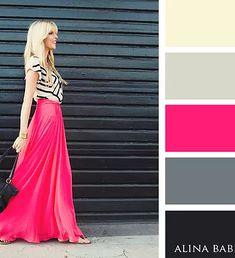 Как правильно сочетать цвета в одежде  Самые модные оттенки сезона и их  сочетания. Официальный сайт. 639ba8b25e7c4