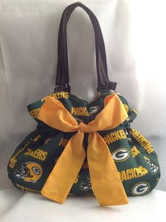 Hey, I found this really awesome Etsy listing at https://www.etsy.com/listing/173277779/green-bay-packers-bag