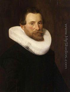 Portrait of a Gentleman c. 1629 - Nicolaes Eliasz. Pickenoy