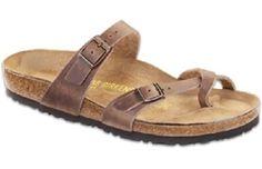 Birkenstock Women's Mayari Tobacco Oiled Leather Sandal 17147