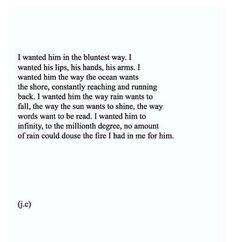 Romance, him .....