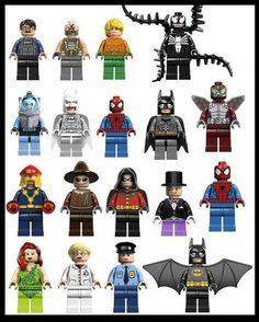 Lego Superheros Stickarounds Wall Bedroom Stickers £1.99 eBay