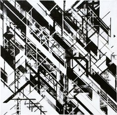 Graphic Surgery 2008 1 x 1 m Russian Constructivism, Abstract Geometric Art, Arte Popular, Art Archive, Photography Business, Design Reference, Three Dimensional, Line Art, 3 D