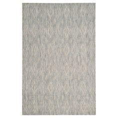 """Bolton Square 6'7"""" X 6'7"""" Outdoor Patio Rug - Grey / Grey - Safavieh, Gray"""