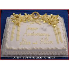 50th anniversary cake ideas | Lindmair Bakery..9230 Magnolia Ave. Riverside CA
