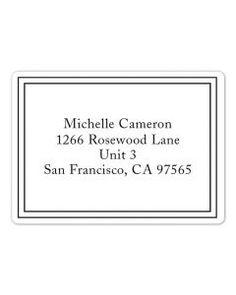 Simple - Custom Address Labels