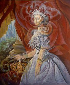Imperatrice Acrilico su tela  120x100