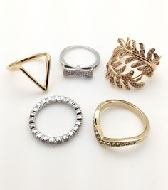 Gorgeous Rings!