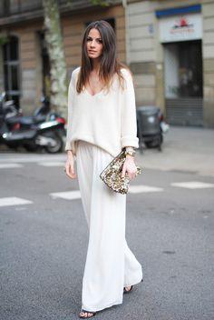 10 looks total white para todas as ocasiões!   Danielle Noce