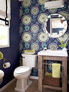 papel de parede no lavabo blog da maria fernanda 14