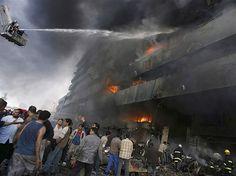Múltiplos bombardeios em Bagdá (© Sabah Arar/Rex Features)