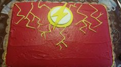 The Flash cake made by me