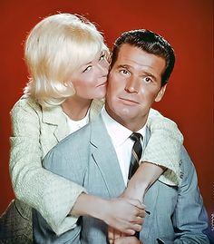 Doris Day and James Garner in Move Over Darling - One of my favorite Doris Day Movies