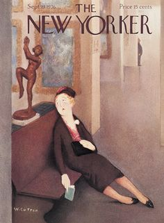 The New Yorker - Saturday, September 19, 1936 - Issue # 605 - Vol. 12 - N° 31 - Cover by : William Cotton