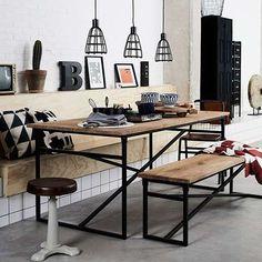 New Routz Eettafel Webster Office Desk, New Homes, Table, Furniture, Caravan, Home Decor, Desk Office, Decoration Home, Desk