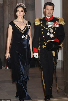 Crown Princess Mary and Frederik, Crown Prince of Denmark
