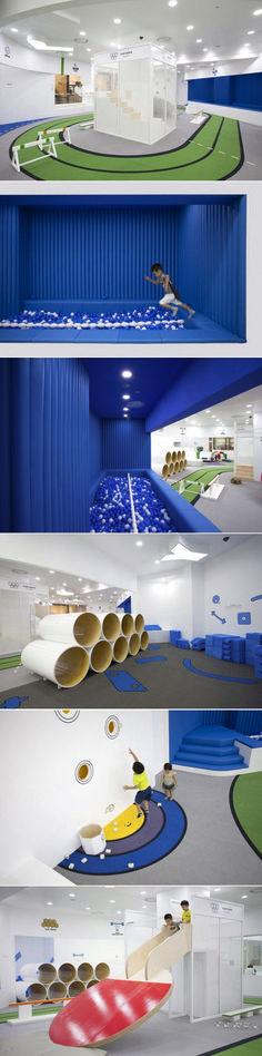 Delightful Modern Kids Cafe Interior Idea 76