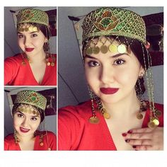 TATAR girl / ТАТАР кызы no information about her - turkic. Beauty Around The World, Exotic Beauties, Folk Costume, Central Asia, North West, Girly, Faces, Asian, Culture