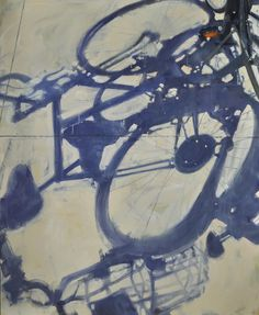 "Duane Keiser; Oil, 2013, Painting ""Bike Shadows"""