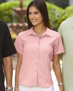 Cubavera Ladies Bedford Cord Camp Shirt Cubavera. $42.31