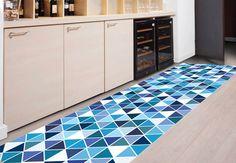 Area rug - Floor runner -model 130 suitable for  entrance, garden/ print rugs/ kitchen floor mat/ kitchen mat/ tile rug / Hallway rug by Printip on Etsy