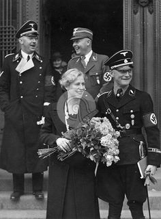 """Less than a week after Heydrich's wedding, on 31 December, Himmler issued his famous ""marriage order"" in an attempt to transform the SS from an exclusively male corps into a community of carefully selected families, the SS-Sippengemeinschaft...."