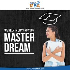 Apply via ApnaMba and get closer to reach your dreams.  Register Now: http://qoo.ly/ef7xs  #Admissions #Enrollment #MBA #Education #Success