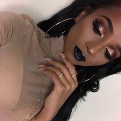 natural makeup looks black girl Makeup On Fleek, Flawless Makeup, Gorgeous Makeup, Love Makeup, Beauty Makeup, Makeup Looks, Hair Makeup, Makeup Desk, Makeup Eyeshadow