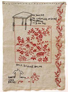 jose leonilson, brazilian genius artist, like the american felix gonzales-torre
