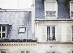 New home exterior  color scheme - cream, grey and blue