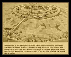 "Plato Atlantis | Mythology / Philosophy: ""The Lost City of Atlantis"", according to ..."