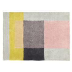 Der farbenfrohen Colour Carpet wurde von Scholten & Baijings für HAY entworfen. Der Teppich ist getuftet und bestehen aus 100% neuseeländischer Wolle.