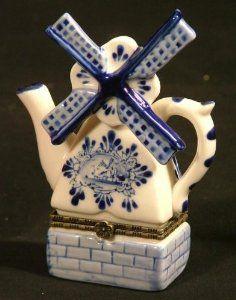 Pretty Netherlands trinket box