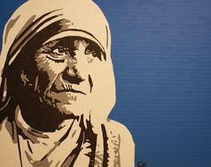 Mother Teresa by Chance Foreman