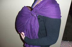 Cutesy Crafts: DIY Baby Sling