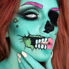 Halloween Makeup ((Glam and Gore))