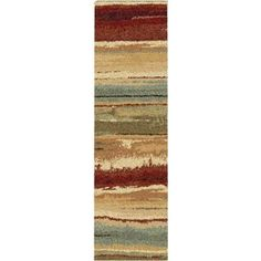 "Shop for Euphoria Collection Capizzi Multi Olefin Area Rug (2'3"" x 8'). Get free…"