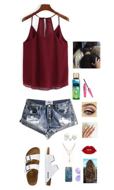 """""""Missing my baby ~ gabby"""" by country-and-gods-girl ❤ liked on Polyvore featuring One Teaspoon, TravelSmith, Ray-Ban and Allurez"""