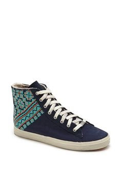 Kim & Zozi 'Woven' High Top Sneaker available at #Nordstrom