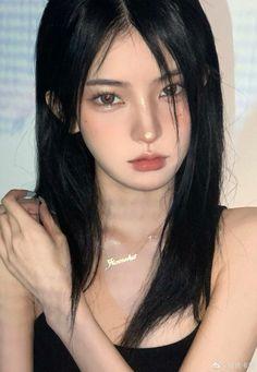 Asian Makeup Looks, Aesthetic Eyes, Uzzlang Girl, Japan Girl, Woman Drawing, Dark Beauty, Girls Eyes, Pretty Face, Cute Girls