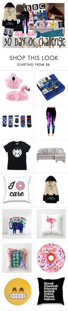 """""""30 Day OC challenge: Day twenty-seven"""" by wibbly-wobbly-timey-wimey-dork on Polyvore featuring Hot Topic, Marvel, WithChic, PBteen, Iscream and Throwboy"""